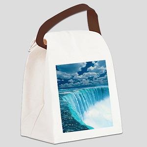 Niagra Falls Canvas Lunch Bag