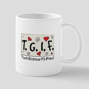 Thank Goodness It's Friday! Mugs