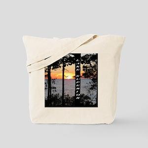 Lake Superior sunset Tote Bag