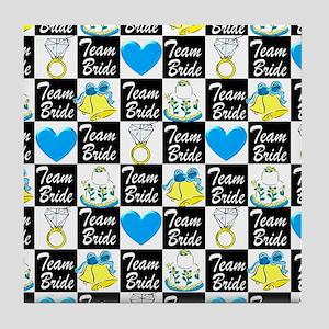 TEAM BRIDE LUV Tile Coaster