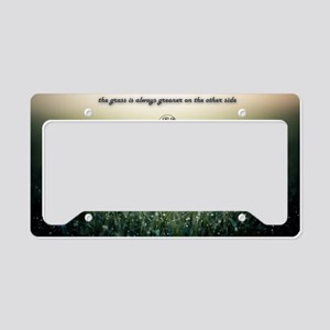 Inspiration License Plate Holder