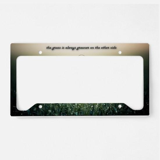 Inspiration License Plate Holder