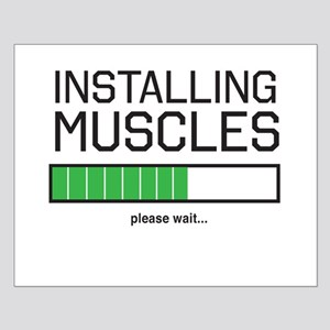 Installing muscles Posters