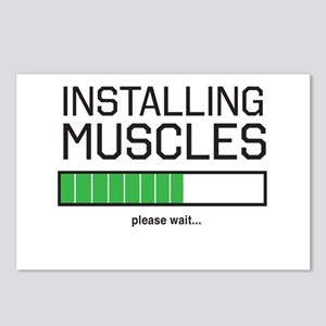 Installing muscles Postcards (Package of 8)