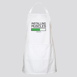 Installing muscles Apron
