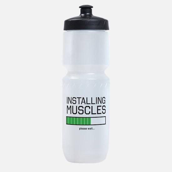 Installing muscles Sports Bottle
