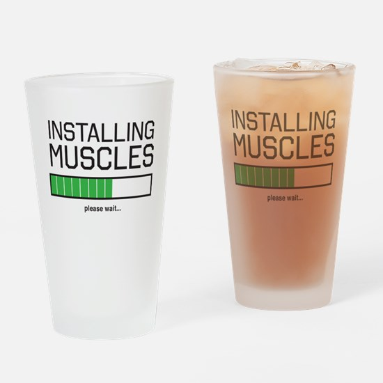 Installing muscles Drinking Glass