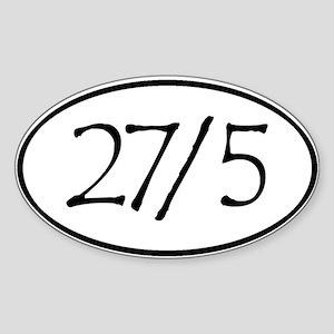 27in5 Lrg Sticker