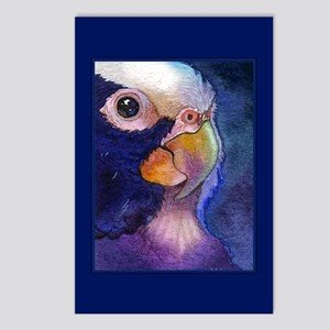 White Crowned Pionus Postcards (Package of 8)