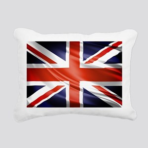Artistic Union Jack Rectangular Canvas Pillow