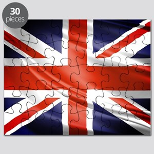 Artistic Union Jack Puzzle