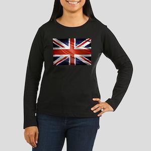 Artistic Union Jack Long Sleeve T-Shirt