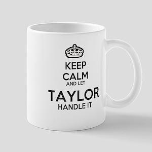 Keep calm TAYLOR Mugs