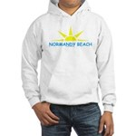 NORMANDY BEACH Sun - Hooded Sweatshirt