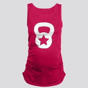 Kettlebell star Maternity Tank Top
