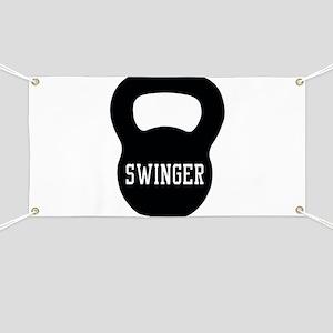 Kettlebell swinger Banner