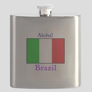 Aloha! Brazil Flask