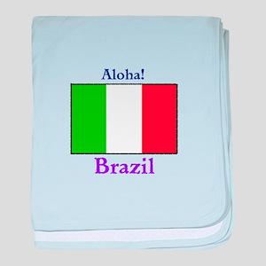 Aloha! Brazil baby blanket