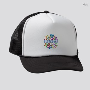 I Love Bluegrass Kids Trucker hat