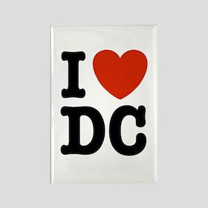 I Love DC Rectangle Magnet