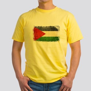 Free Palestine Yellow T-Shirt