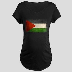 Free Palestine Maternity Dark T-Shirt