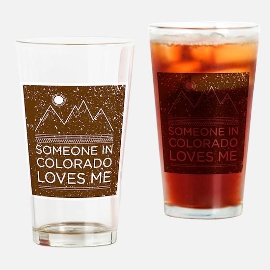 Cute Colorado Drinking Glass