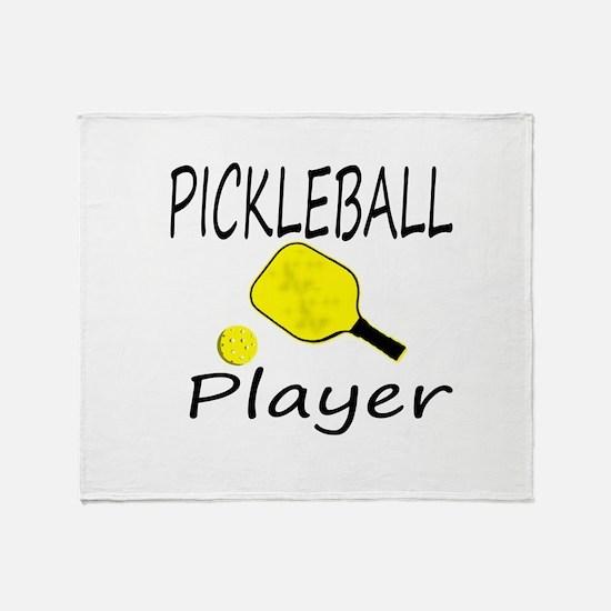 Cute Pickleball Throw Blanket