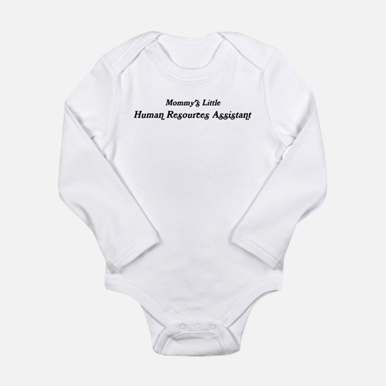 Mommys Little Human Resources Infant Bodysuit Body