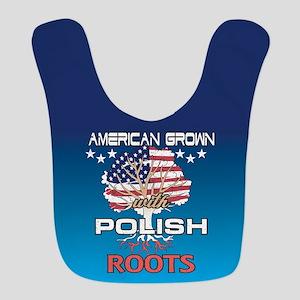 Polish American Polyester Baby Bib