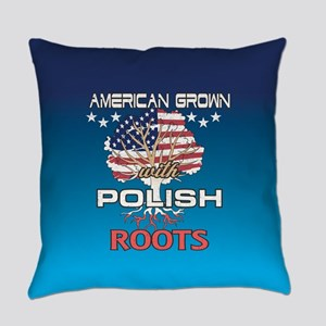 Polish American Everyday Pillow
