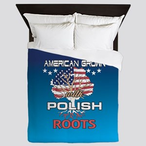 Polish American Queen Duvet