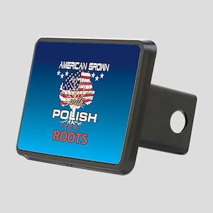 Polish American Rectangular Hitch Cover