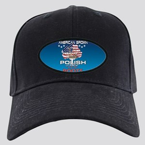 Polish American Black Cap with Patch
