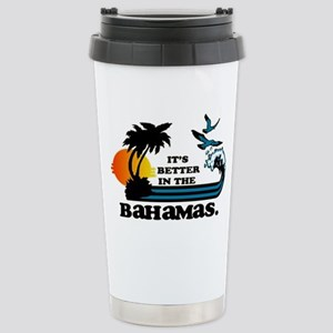 It's better in the Baha Stainless Steel Travel Mug