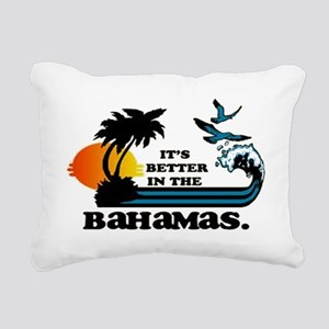 It's better in the Baham Rectangular Canvas Pillow