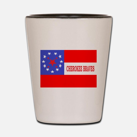 Cherokee Rifles Shot Glass