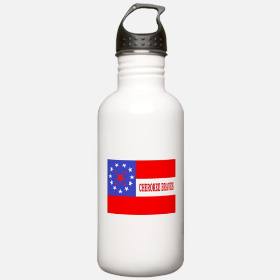 Cherokee Rifles Water Bottle