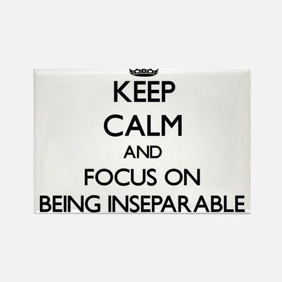 Keep Calm and focus on Being Inseparable Magnets