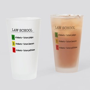 law student futures Drinking Glass