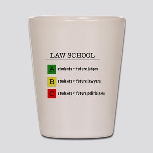law student futures Shot Glass