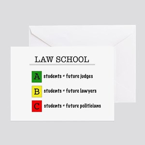 Future lawyer greeting cards cafepress law student futures greeting card m4hsunfo