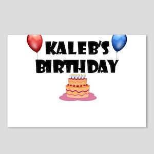 Kaleb's Birthday Postcards (Package of 8)