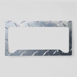 Diamond Plate License Plate Holder