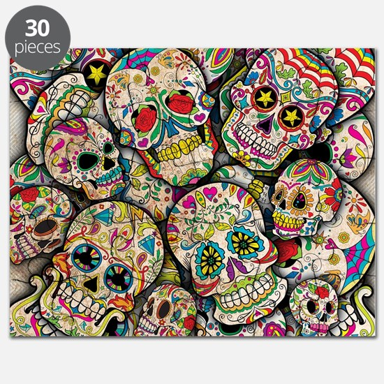Funny Day of the dead Puzzle