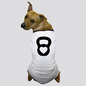 Love kettlebell Dog T-Shirt