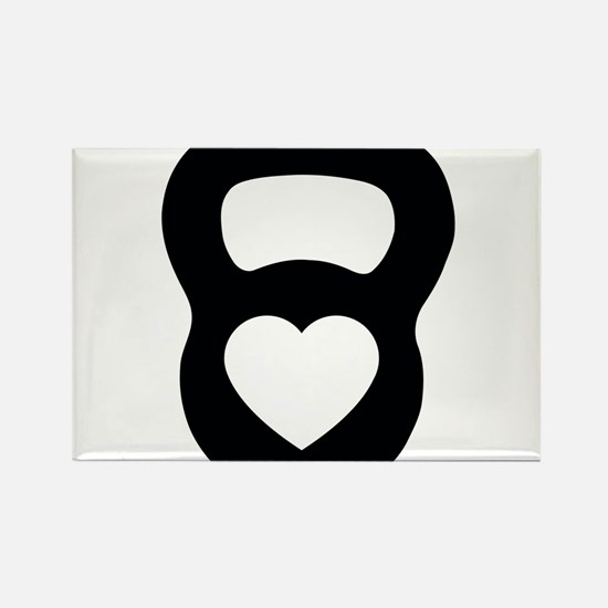 Love kettlebell Magnets