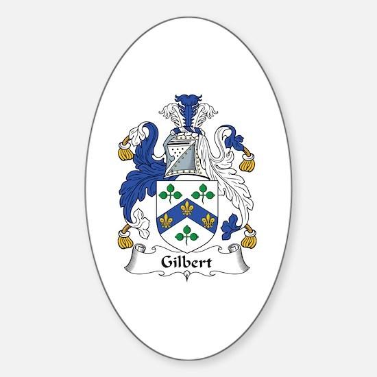 Gilbert Oval Decal