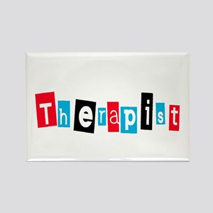 Therapist Rectangle Magnet
