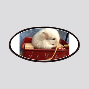 Chinchilla in a Wagon Patches